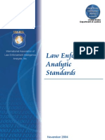 Law Enforcement Analytic Standards