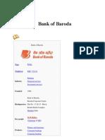 FINAL Bank of Baroda