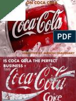 Economics Case Study - Is Coca Cola the Perfect Business