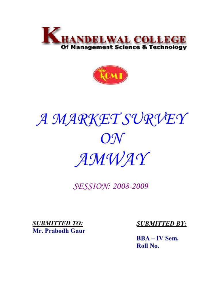 amway china marketing plan