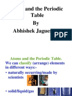 Atoms and the Periodic Table by Abhishek Jaguessar