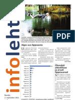 Infoleht 2 September 2011