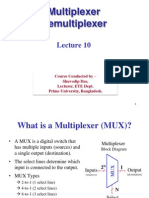 EEE 357 Lecture 10 Mux, Demux