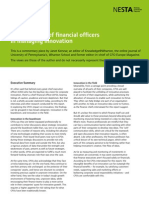 The role of chief financial officers in managing innovation