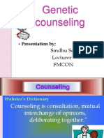 Genetic Counseling GNM Classs