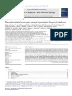 Waters + Prog Biophysics Mol Biol 2011 Review Coronary Vacular Bio Mechanics