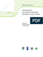 Proceedings of the Fourth EAS Partnership Council Meeting