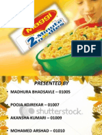 Maggi the Final Ppt..
