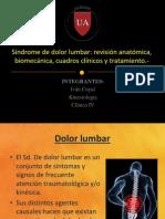 Síndrome de dolor lumbar