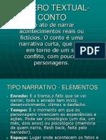 GÊNERO TEXTUAL-CONTO