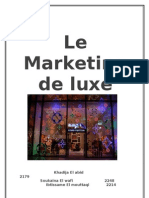 Marketing de Luxe