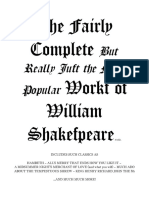 Scrambled Shakespeare