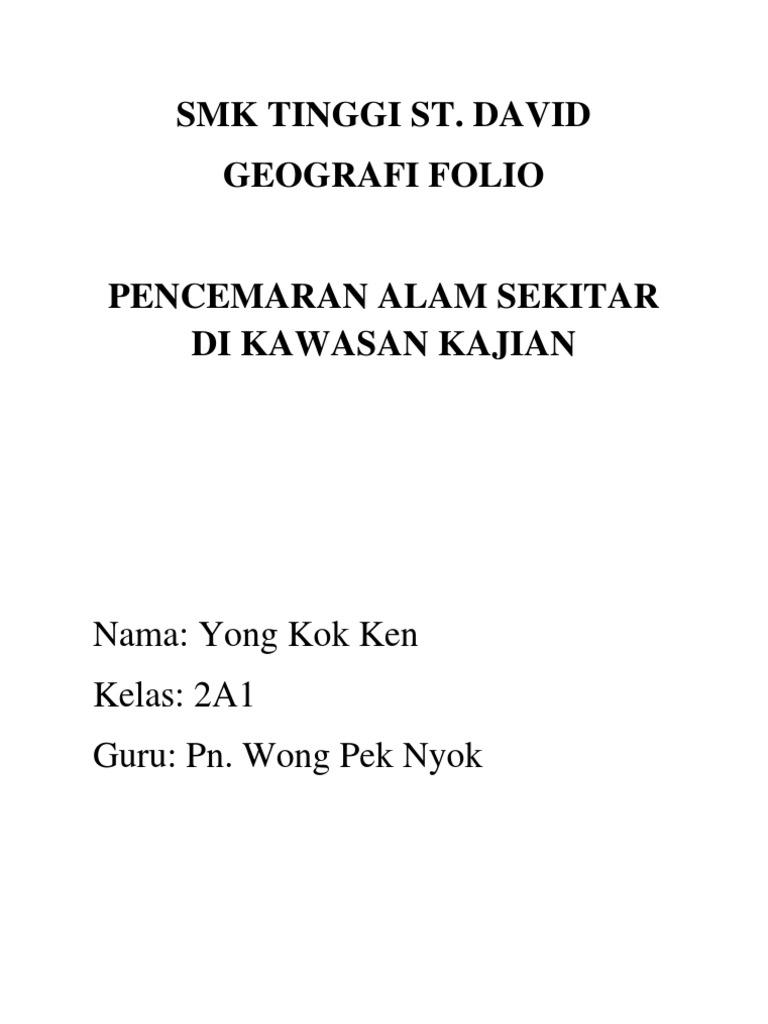 Folio Geografi Tingkatan 2