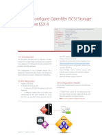 XD10119 How to Configure Openfiler iSCSI Storage for VMware ESX 4