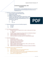 IP 2011 Assignments