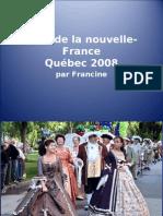 Parade Nouvelle France