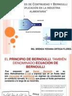 Ecuaciones de ad y Bernoulli y Su