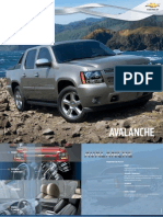 Avalanche Brochure