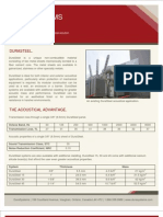 DuraSystems - DuraSteel Acoustical Brochure