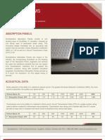 DuraSystems - Absorption Panel Acoustical Brochure