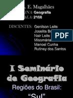 I Seminário de Geografia