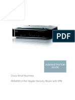 RVS4000 Router Manual (AG_OL-22605)