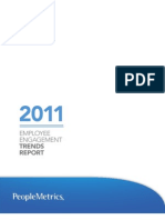 Employee Engagement Trends Report_2011_Executive Summary_PeopleMetrics