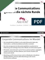 Ant-On! NewsRoom für Unternehmen