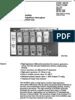 ABB Radha High-impedance Three-phase Differential Relay
