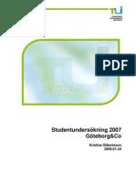 Studentundersökning 2007