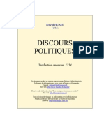 Hume Discours Politiques[1]