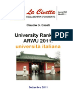 University Rankings ARWU 2011