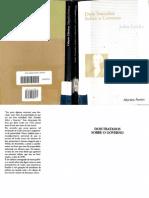 John Locke. Dois tratados sobre o governo. São Paulo_ Martins Fontes, 1998