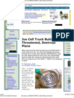 Joe Cell Truck Builder Threat