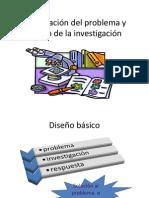Formulación del problema y diseño de la investigación
