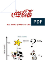 bcg matrix of coca cola Bcg growth-share matrix ge-mckinsey matrix swot analysis pepsico swot analysis reveals the company's internal strengths and weaknesses as well as external opportunities and threats the coca-cola company, dpsg, mondel z international.