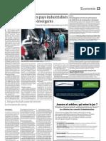 L'Afrique du Sud craint de revivre la récession de 2009 (Le Monde, 3 septembre 2011)
