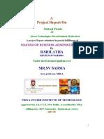 Mutual Funds Srilatha