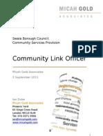 Community Link Officer Recruitment