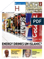 Is energy drink unIslamic?