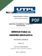 TECNOLOGÍA EDUCATIVA PARA LA GESTIÓN - PREGUNTA 1