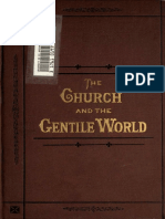 Thébaud. The church and the gentile world at the first promulgation of the gospel. 1878. Volume 2.