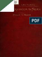 Moxom. From Jerusalem to Nicaea