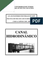 Practica de Canal Hidrodinamico