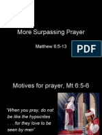 More Surpassing Prayer