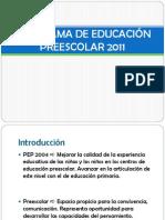 PROGRAMA DE EDUCACIÓN PREESCOLAR 2011