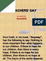 Teachers'Day