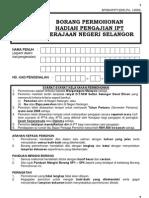(Dokumen) Hadiah Masuk IPT Selangor