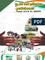 PLIEGO DE PETICIONES 2011
