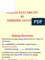 Making Electricity by Abhishek Jaguessar